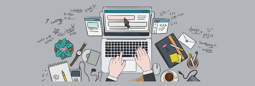 conception de son site web
